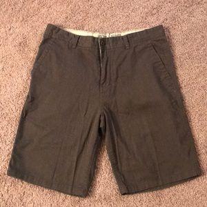 Grey Cargo Shorts
